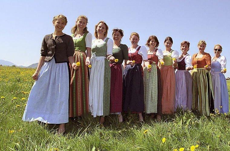 Национальные костюмы — часть официального дресс-кода германия, люди, подборка, страна, традиции, факты