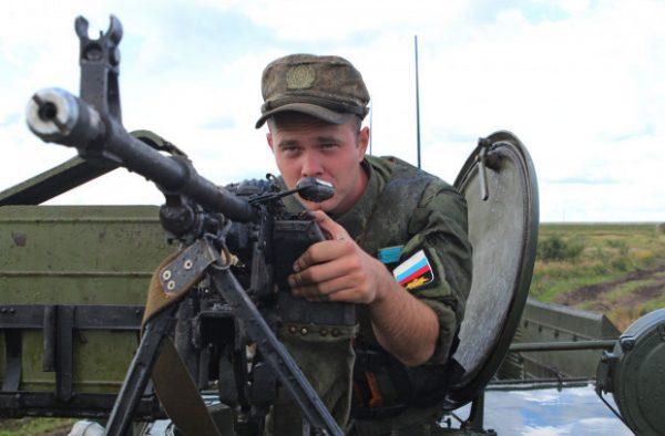 Как российские военнослужащи…