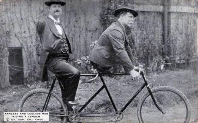 У Чарльза Триппа нет рук, а у Эли Боуэна нет ног, но выход всегда есть, 1890-е история, факты, фото