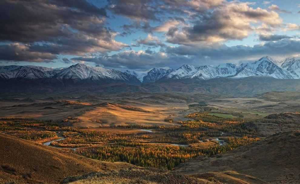 Невероятный и сказочный Алтай на фото
