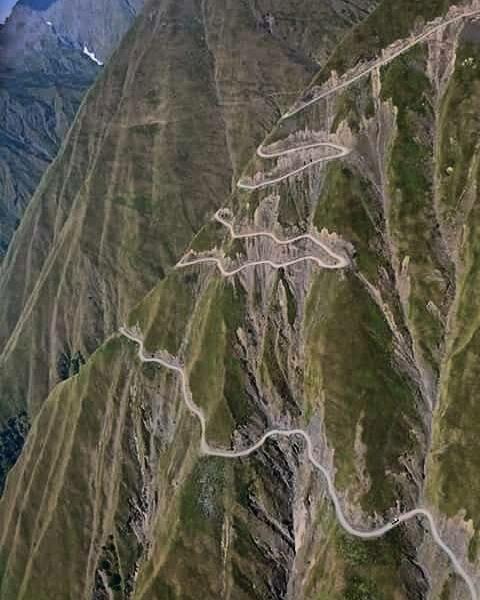Дрога в Тушети, Грузия горы, интересное, красота, скалы, стройка, царь природы