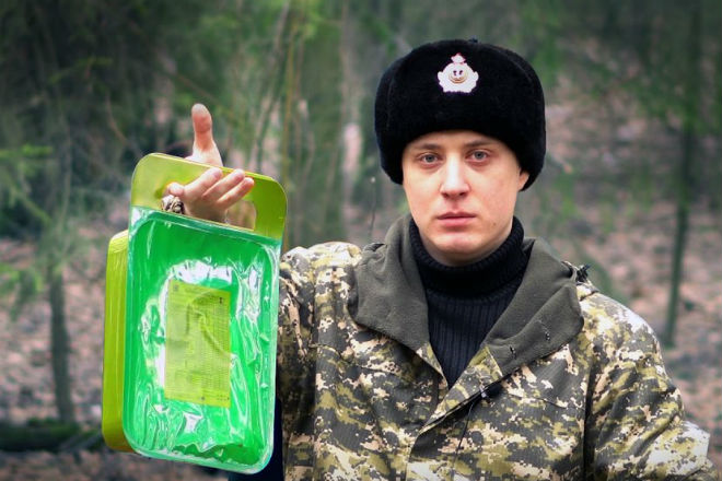 Новый сухпай российского солдата