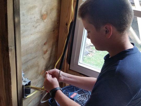 13-летний подросток построил дом, который стоит увидеть маленький дом, Строительство, Дети, мечта, минимализм, жизнь отдельно от родителей, длиннопост