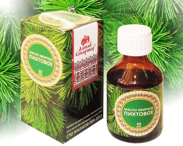 Лечение заболеваний пихтовым маслом