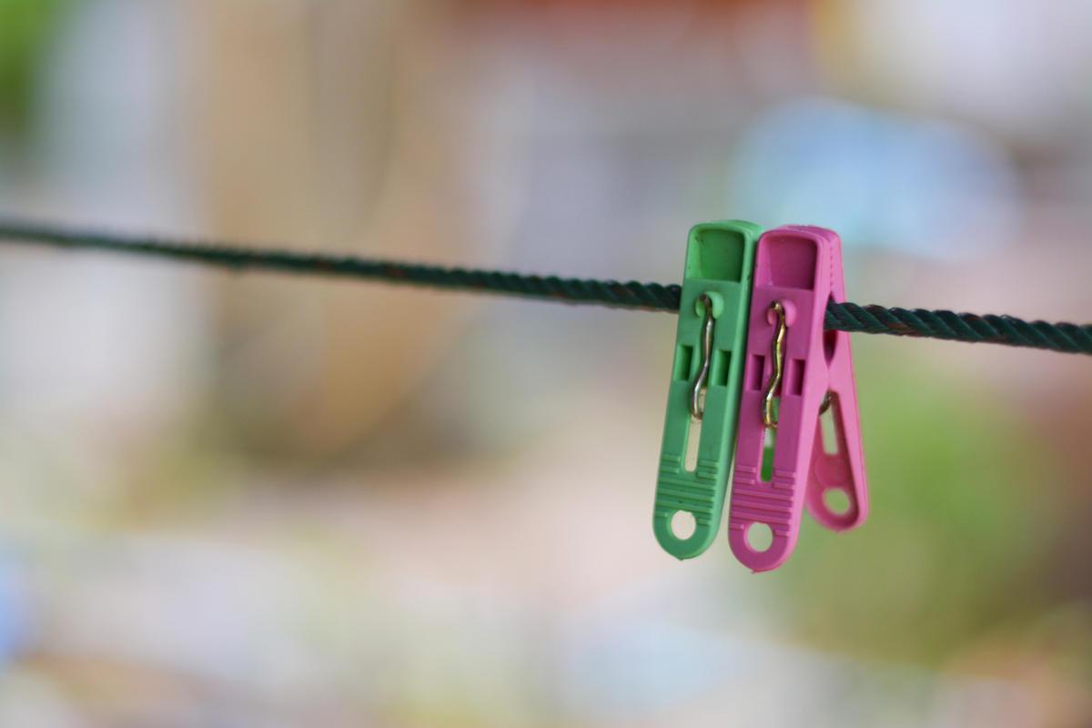 9 практичных идей сушилок для белья на даче