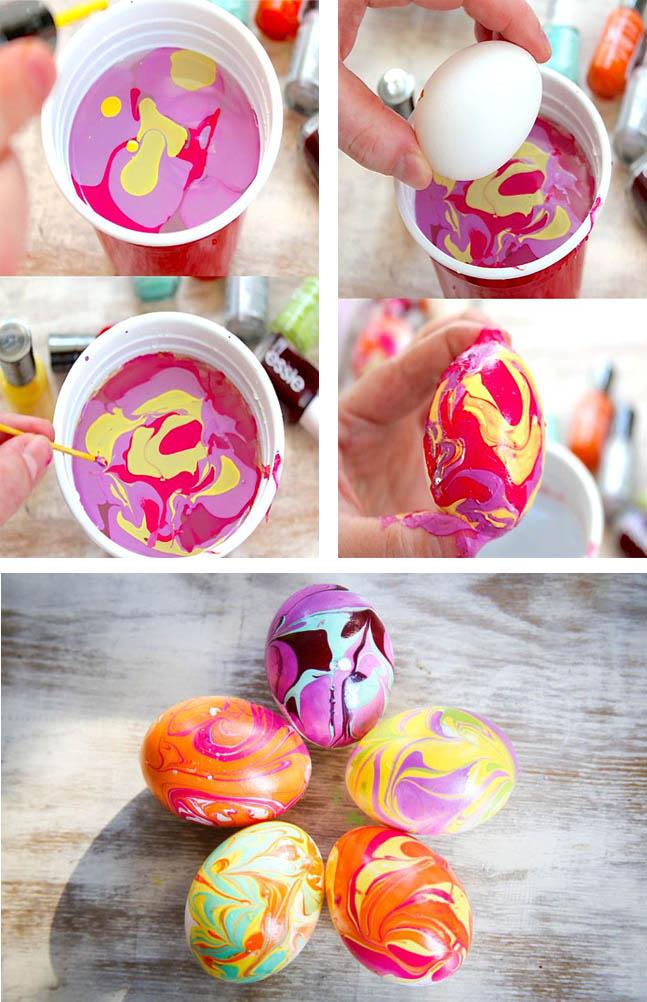 Как покрасить яйца самостоятельно