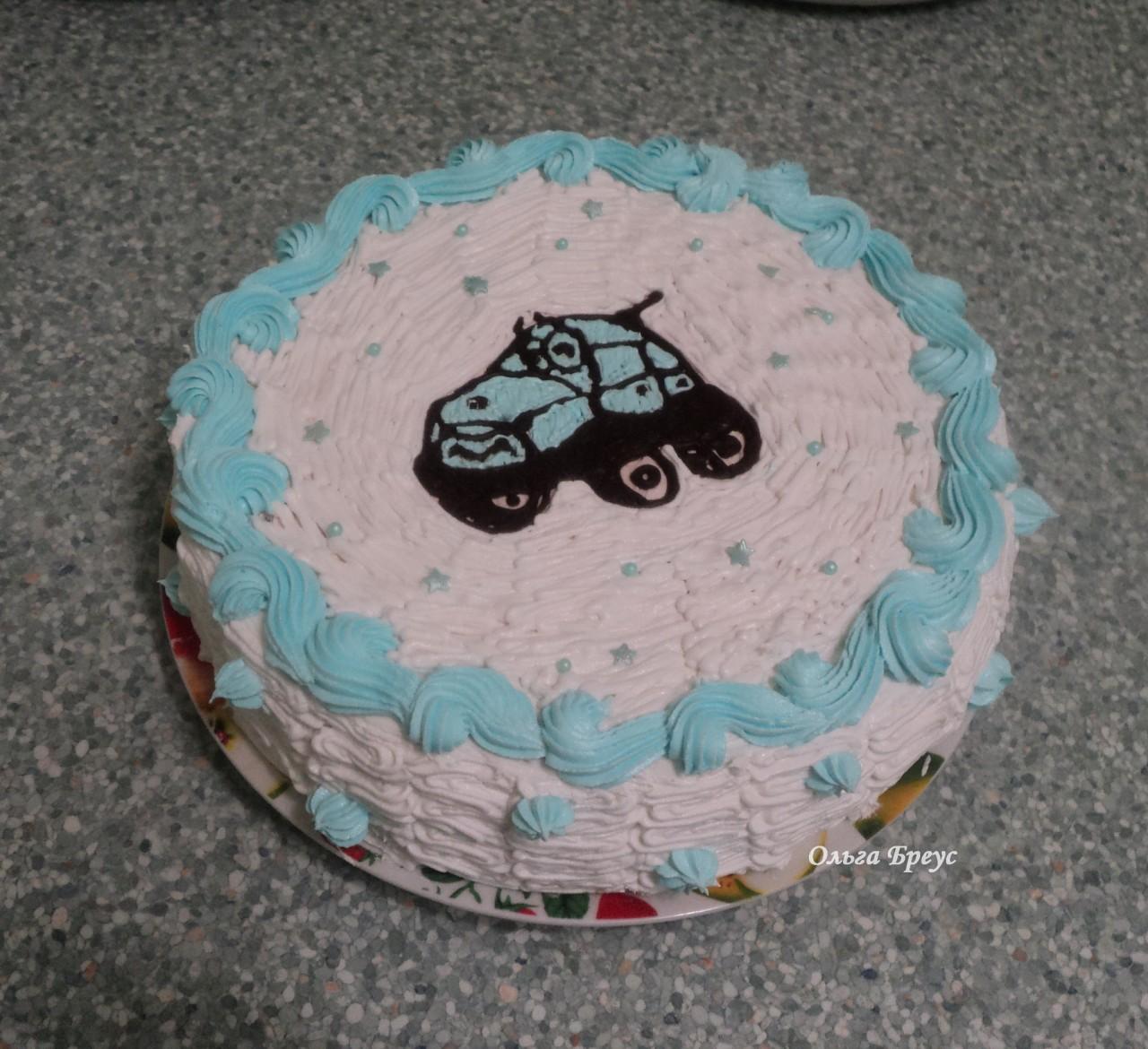 Продолжаю печь детские тортики и не только)
