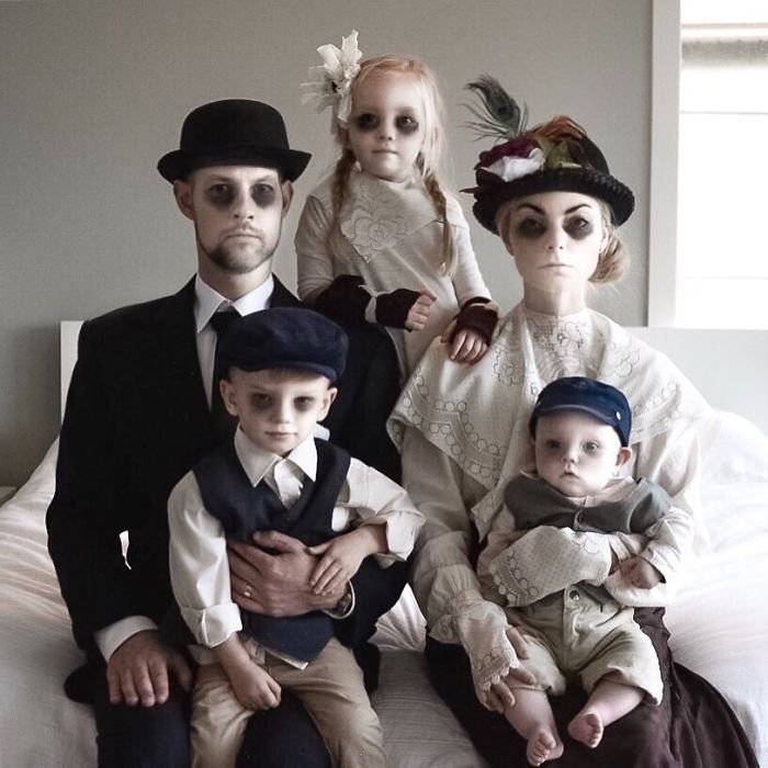 Прикольные картинки семья и дети, новым годом
