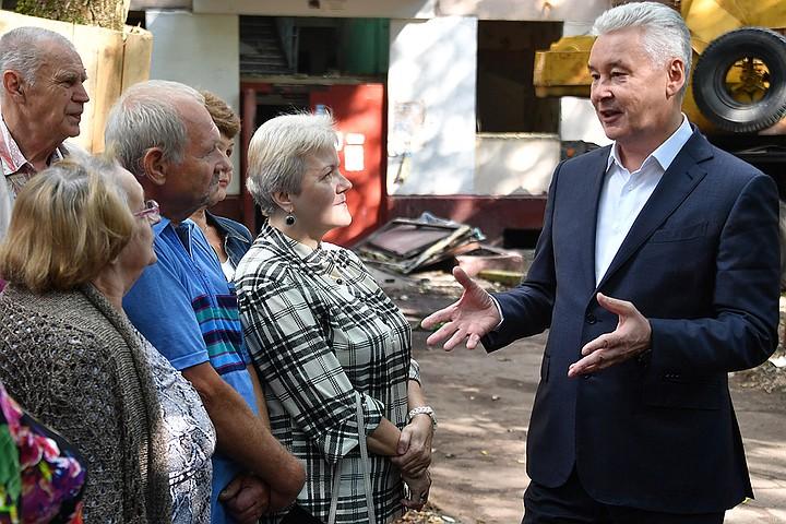 Собянин внес в Мосгордуму законопроект о поддержке москвичей старше 50 лет