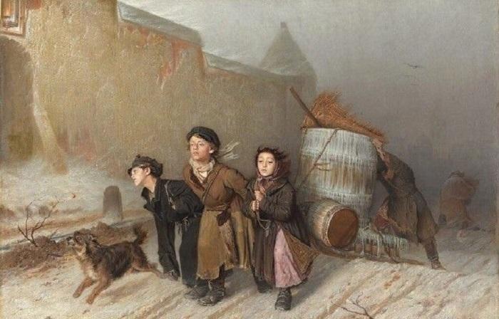 Запретная тема: 22 правдивых картины Василия Перова о жизни простых русских людей в XIX веке