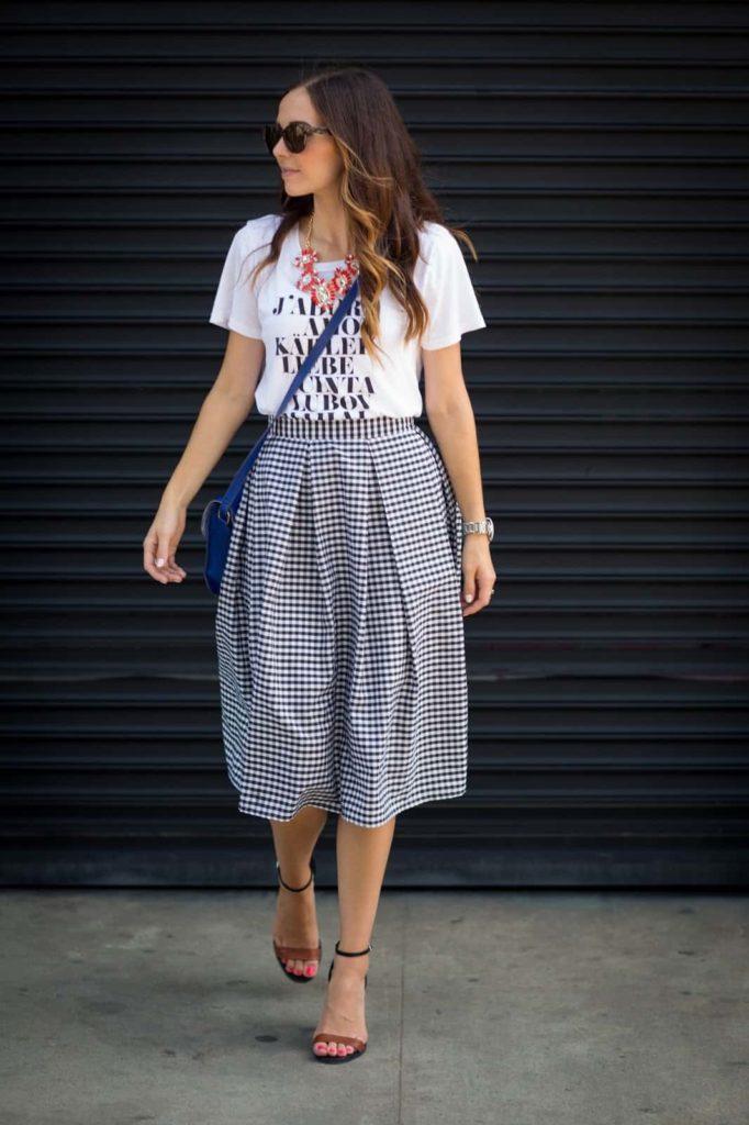 Как сшить юбку с бантовыми складками без выкройки женские хобби