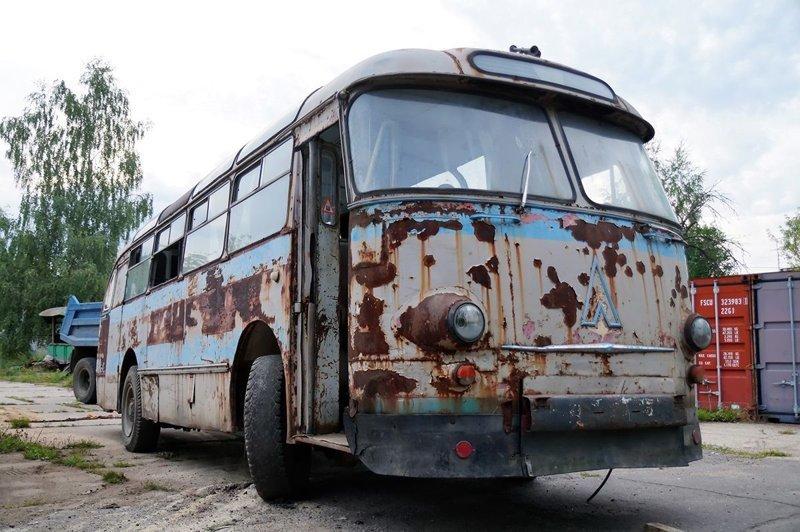 "ЛАЗ-695Е, или ""Елена"" уральская ЛАЗ, ЛАЗ-695Е, авто, автобус, олдтаймер, реставрация, ретро авто, ретро техника"