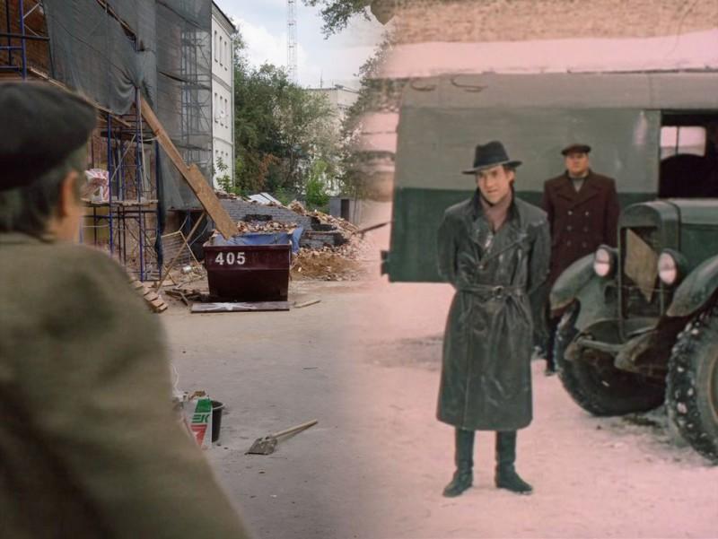 Герои любимых советских фильмов на улицах современной Москвы