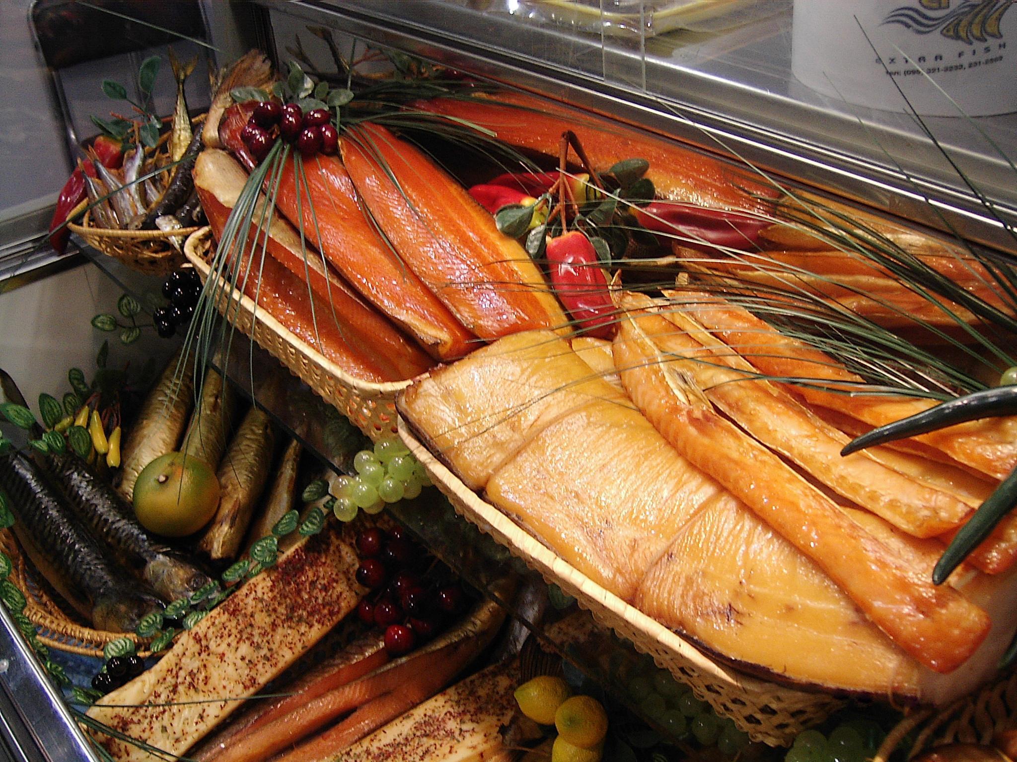 Фото рыба копченая