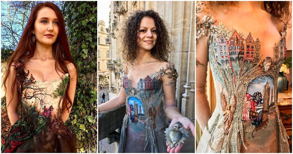 Этот французский дизайнер создаёт уникальные и в то же время необыкновенной красоты платья