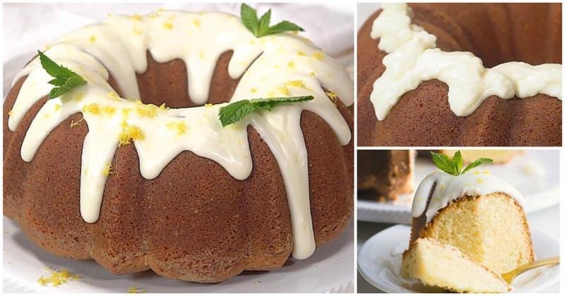 Лимонный пирог «Сюрприз» — удивительно вкусный и нежный десерт