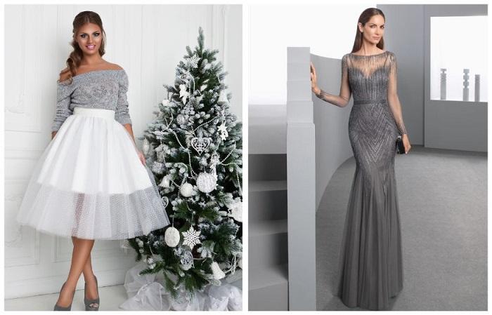 Встретить Новый Год можно как в юбке, так и в платье
