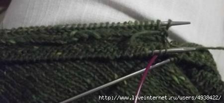 Как сделать аккуратную планку на любое вязаное изделие