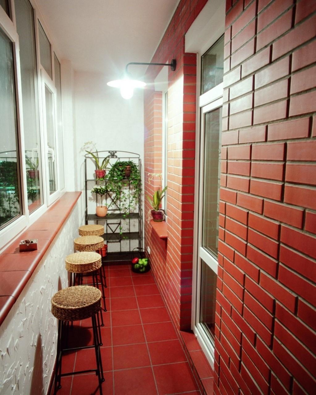 оформление балкона дизайн