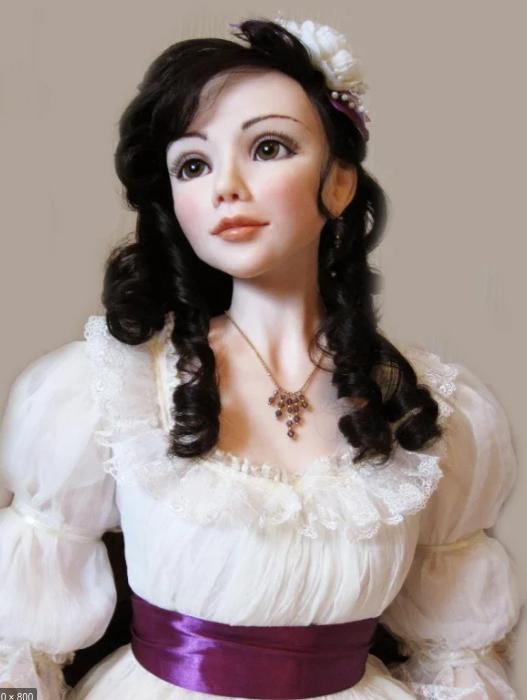 Авторские куклы ручной работы. Восхитительная красота и нежность. handmake,куклы и игрушки,поделки своими руками