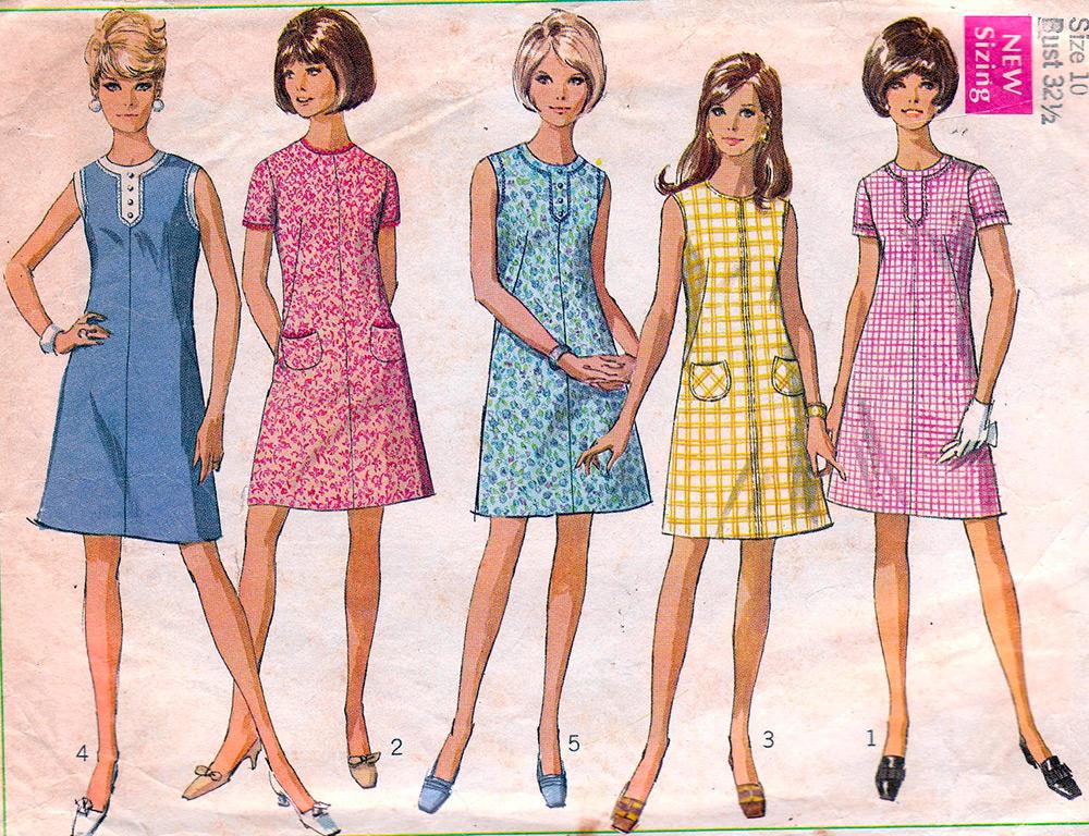 История платья-трапеции