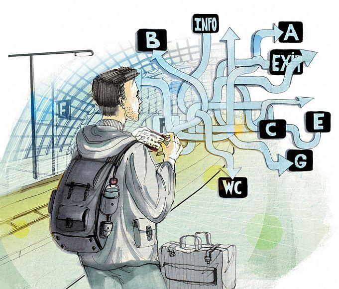 Как путешествовать на поездах за границей