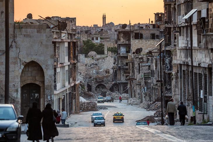 Мирная жизнь Алеппо