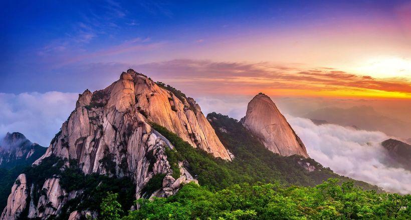 Сеул — удивительная столица, в которой есть свой национальный парк