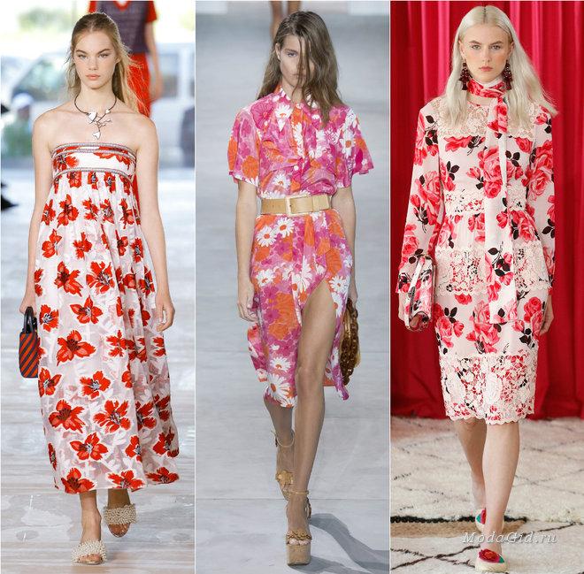 Модные платья сезона весна-лето 2017 — актуальные тенденции и фото