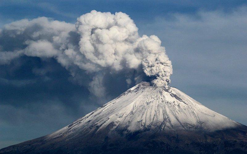 Попокатепетль. Мексика вулкан, вулканы, вулканы фото, природная катастрофа