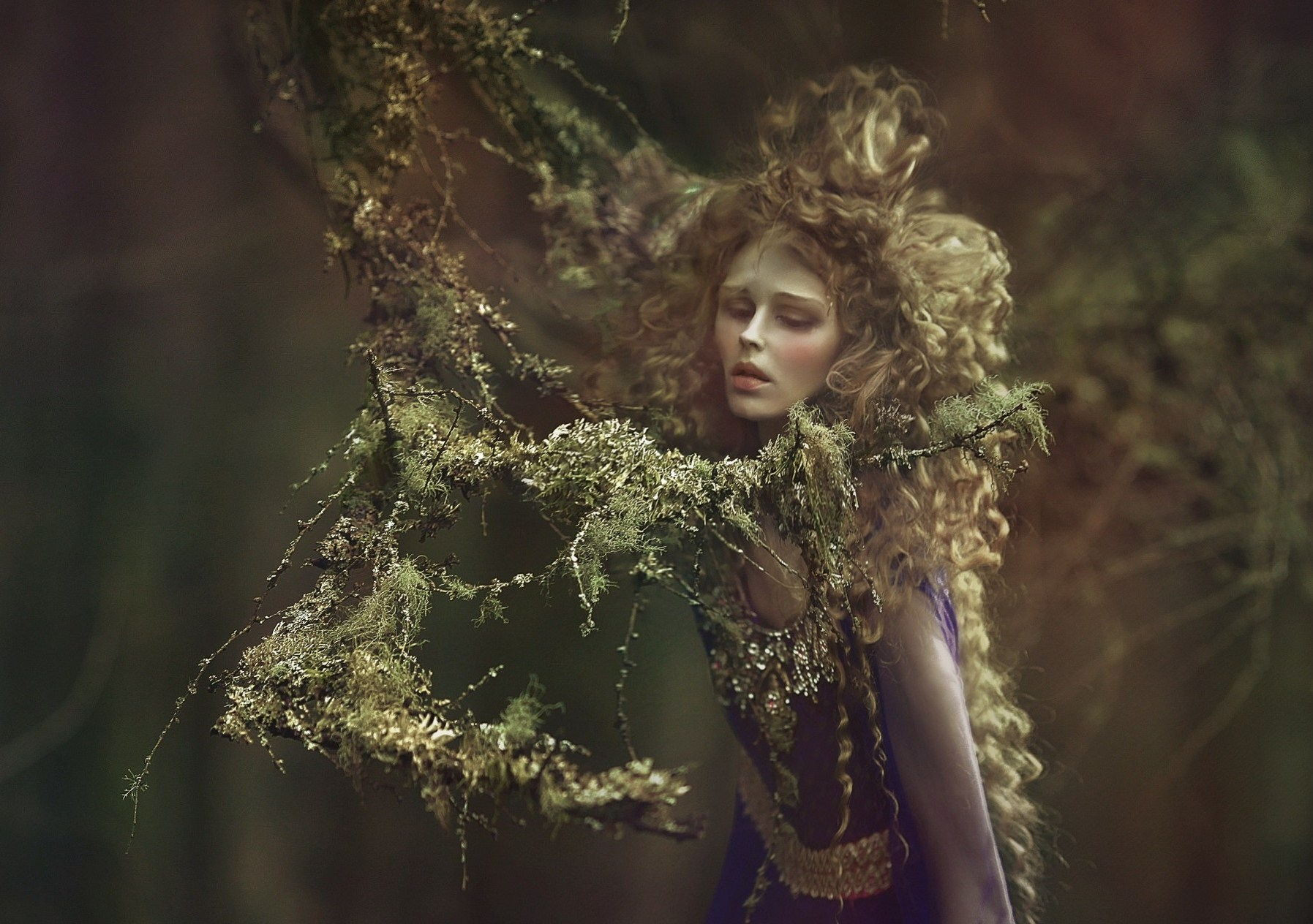 представляет собой фотосессия лесные феи следует что следует