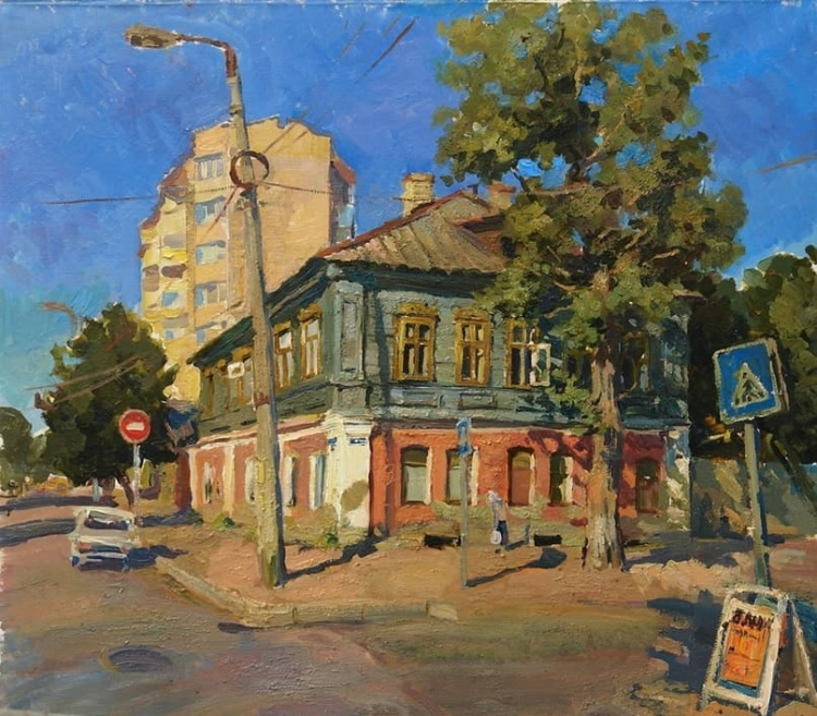 Художник Ольга Сорокина. Очаровательные улочки старого города