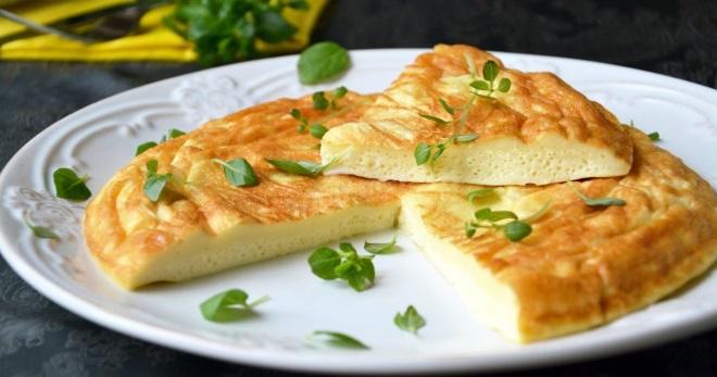 Омлет - рецепты лучшего и очень вкусного блюда на завтрак