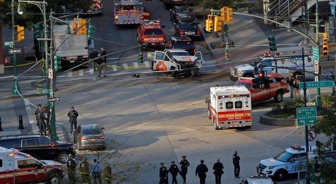 Теракт в США. Преступник использовал грузовичок