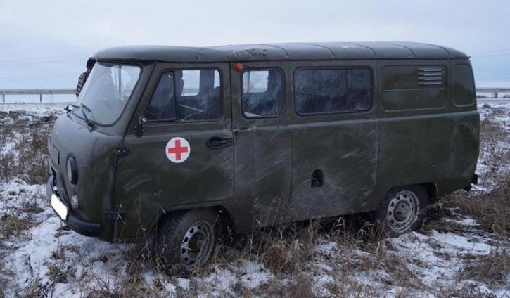 ВСУ подорвали машину «скорой», перевозившую раненого бойца