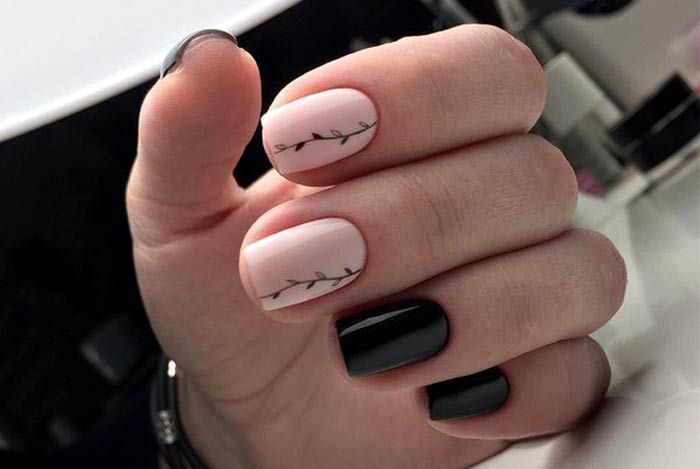 Для любительниц Шеллака! На короткие ногти, дизайн на любой вкус. 60+ фото