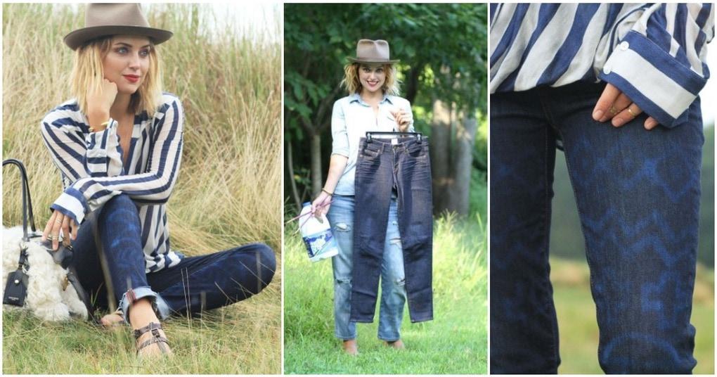 Превращаем обычные джинсы в …