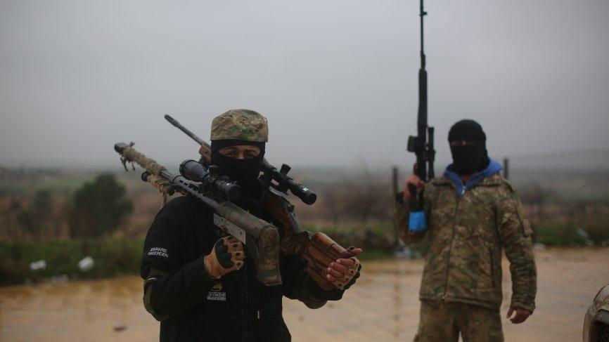 Сирия: ВС Турции открыли ответный огонь по курдам YPG в Африне