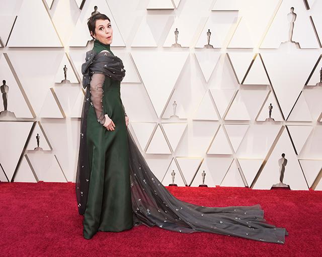 Оскар-2019: Оливия Колман на красной дорожке Красная дорожка