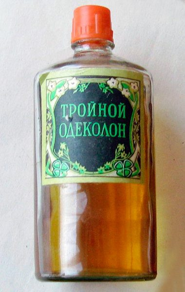 Парфюм советской эпохи: одеколон «Тройной»