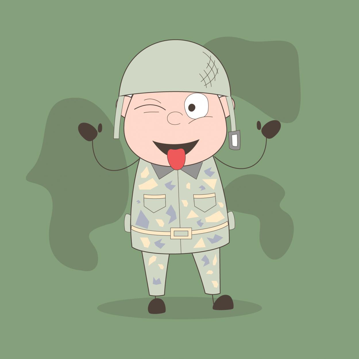 Десятка анекдотов про армию и военных