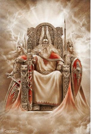 Славянские боги в картинах Игоря Ожиганова