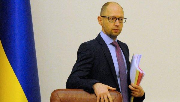 Премьер Украины А. Яценюк боится двусторонних переговоров с Россией и требует участия ЕС и США