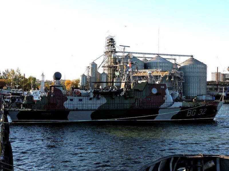 Украинские ВМСУ нарастили корабельно-катерную группировку в Азовском море