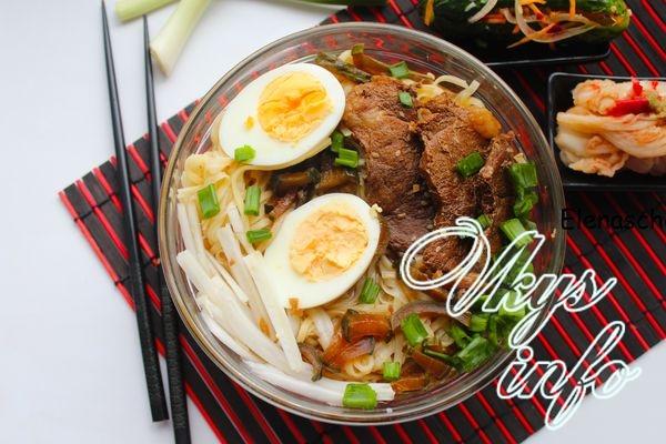 Рамен – корейский суп