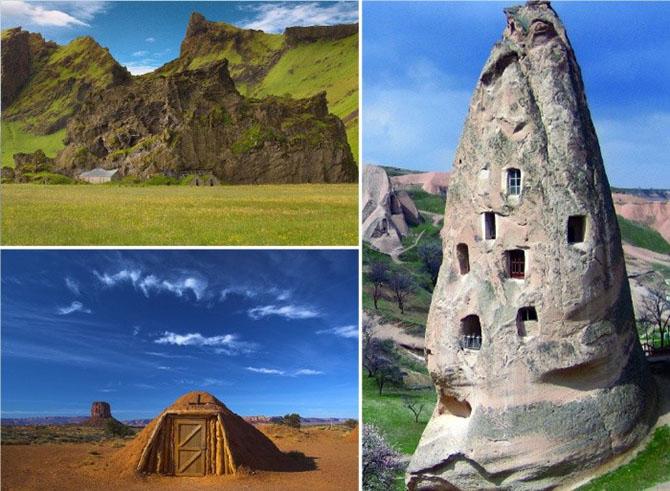 14 экологичных жилищ, которые вызовут восторг у любителей натурального