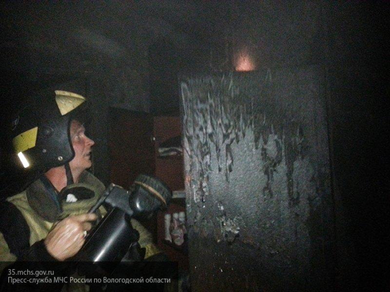 Житель Череповца сгорел в собственной квартире