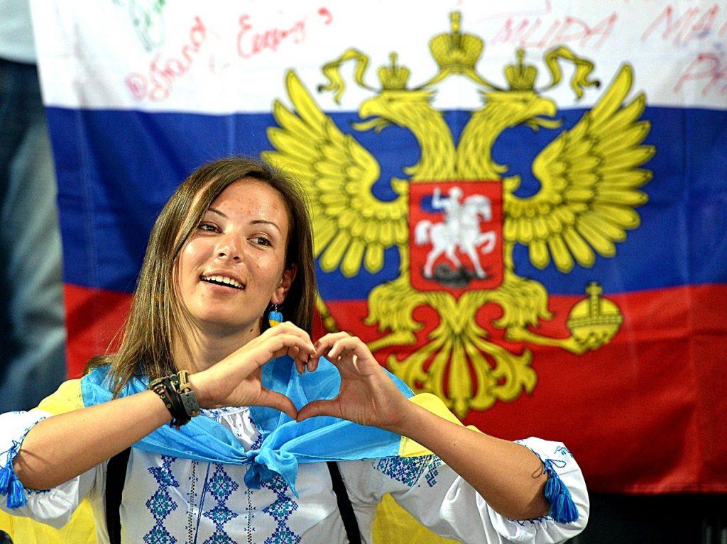 Сбежавшая в Россию киевлянка…