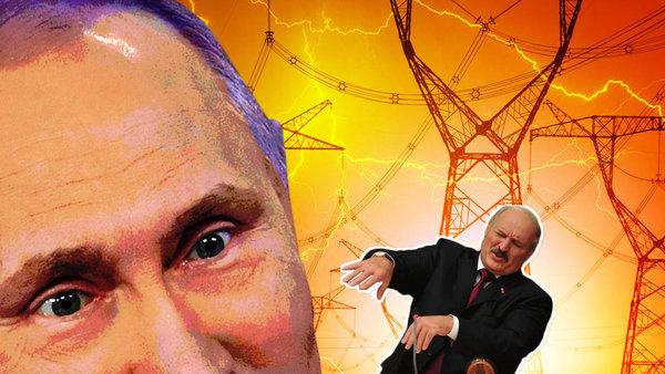 """Лукашенко боится и избегает встречи с Путиным, потому что ему нечего ответить. Фото: thedailybeast.com + коллаж """"Военкора"""""""