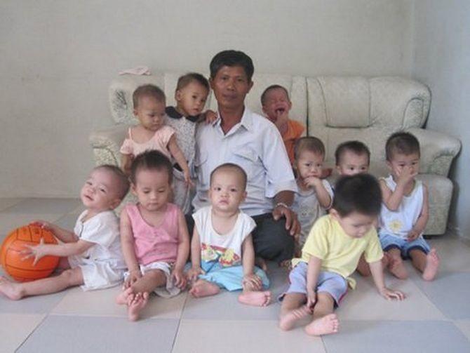 15 лет этот мужчина хоронил малышей из клиники абортов